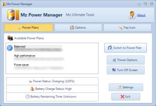 Windows 7 Mz Power Manager 1.1.0 full