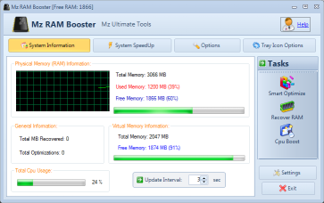 Windows 7 Mz Ram Booster 4.1.0 full